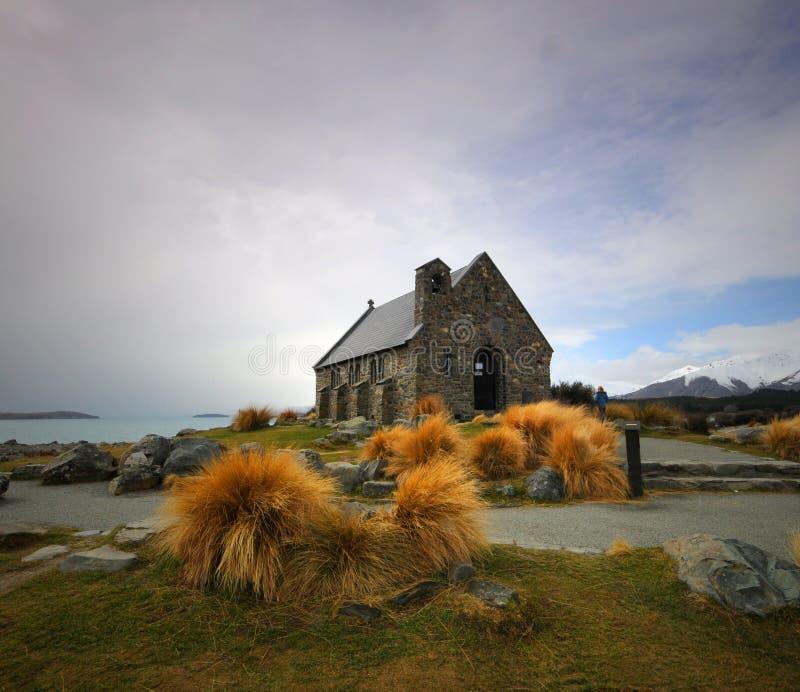 Церковь Tekapo озера стоковые фото