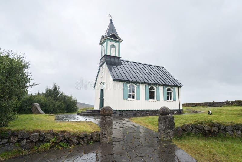 Церковь Thingvellir стоковое фото