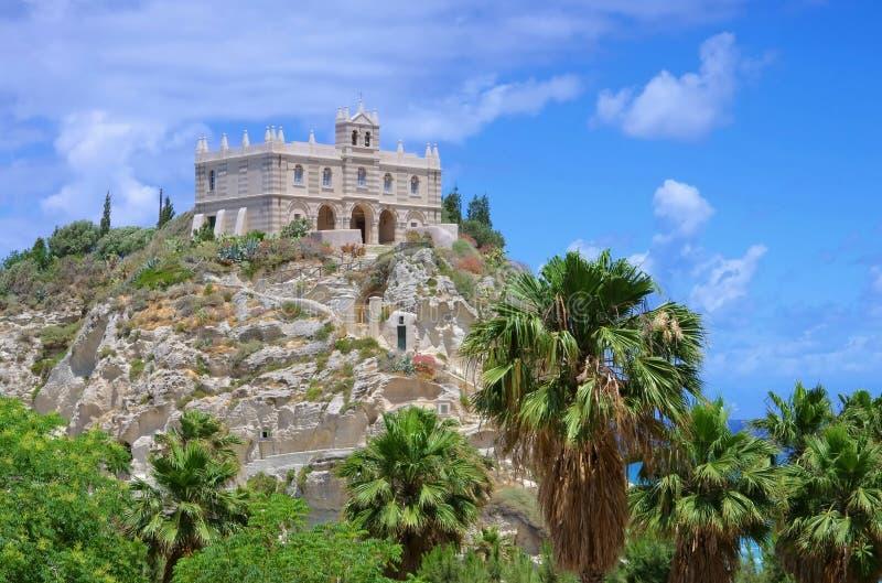 Церковь Tropea стоковые фото