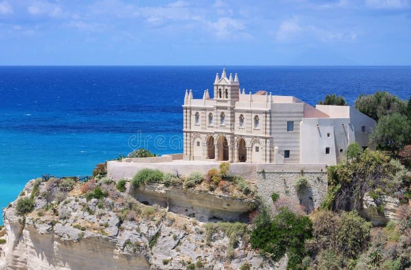 Церковь Tropea стоковое изображение rf