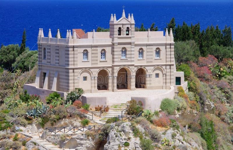 Церковь Tropea стоковое фото