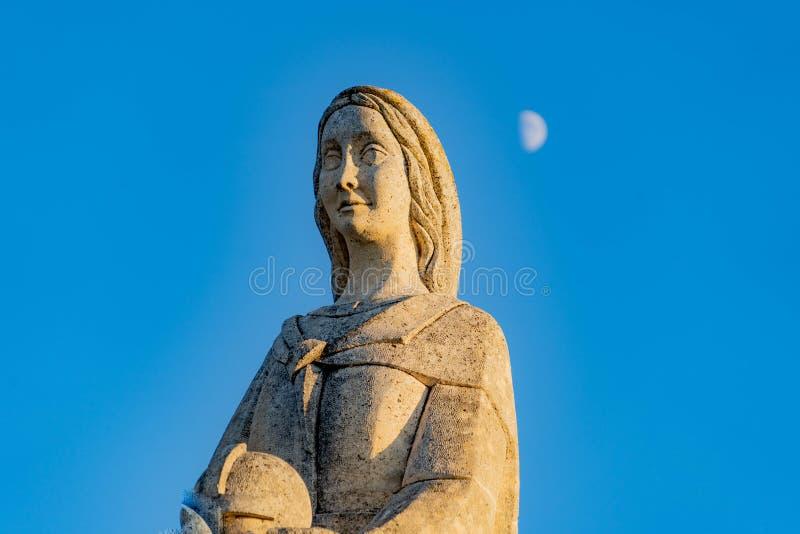 Церковь Virgen del Camino стоковые изображения