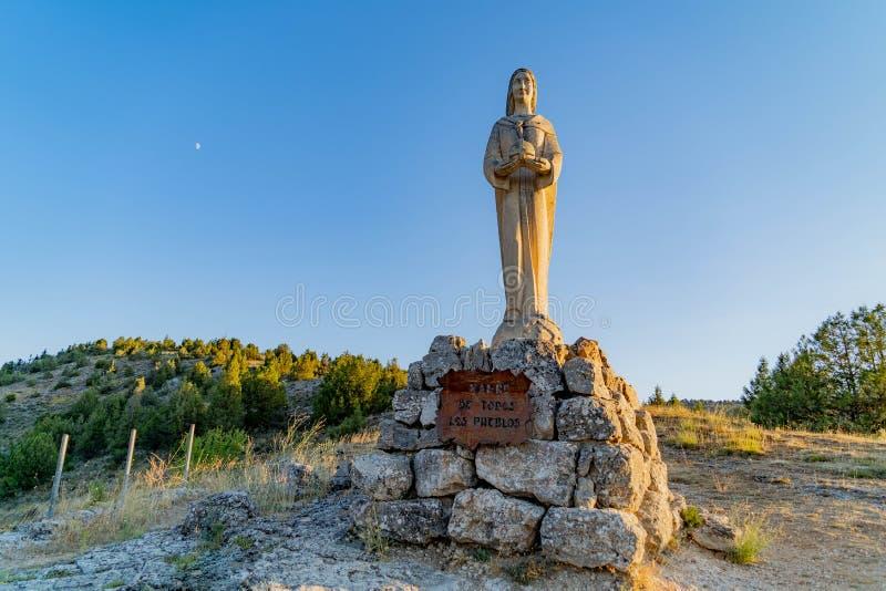 Церковь Virgen del Camino стоковая фотография rf