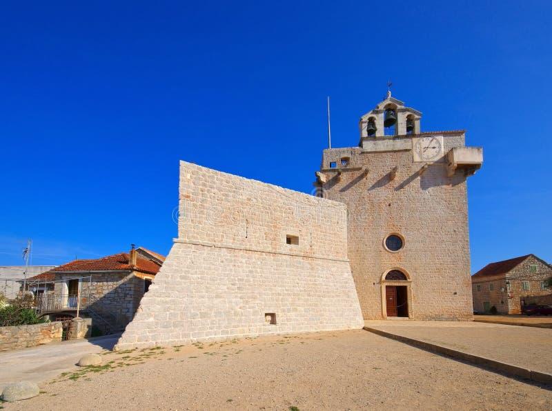 Церковь Vrboska стоковые фото