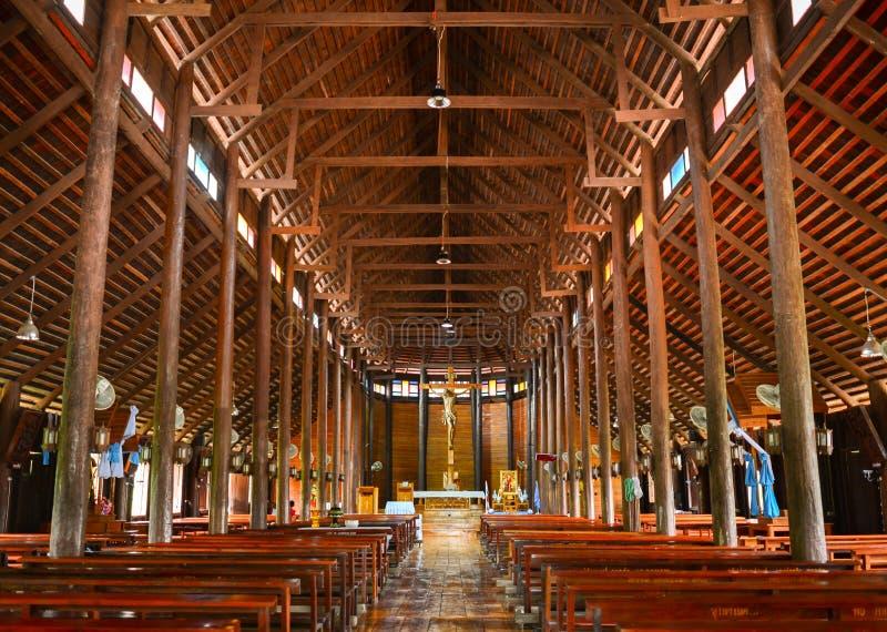 Церковь Yae песни запрета, самая большая деревянная церковь стоковое изображение