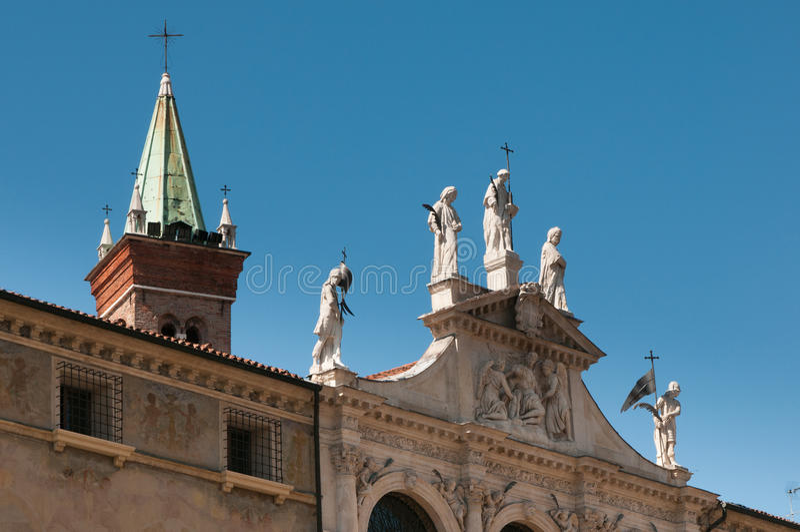 Церков Виченца стоковая фотография rf