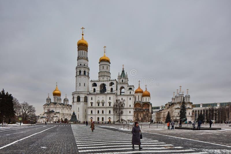 Церков на красной площади стоковое изображение
