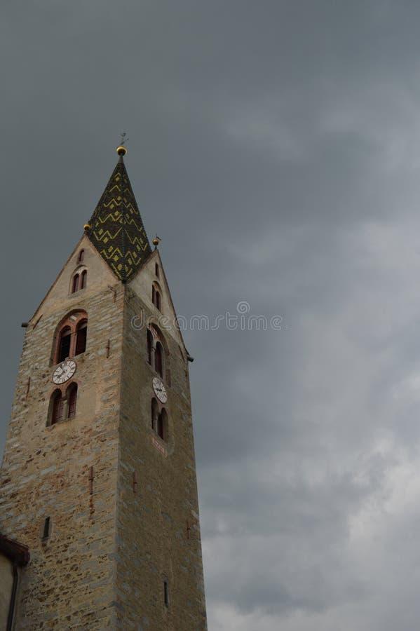 Церков Villanders стоковые фото