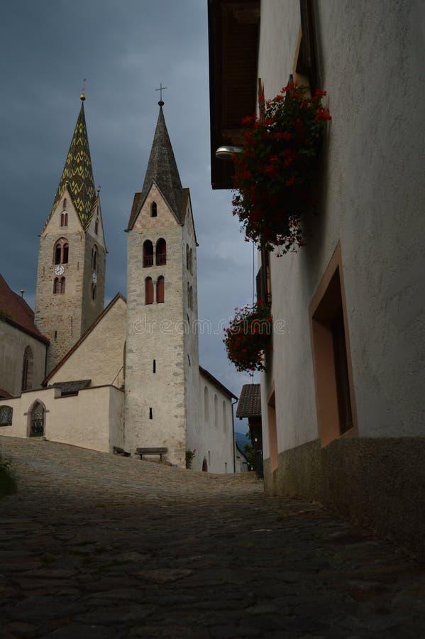 Церков Villanders стоковое фото
