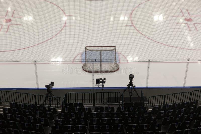 Цели хоккея стоковая фотография