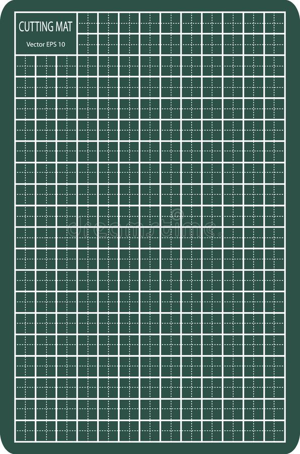 Циновка вырезывания, иллюстрация EPS 10 вектора бесплатная иллюстрация