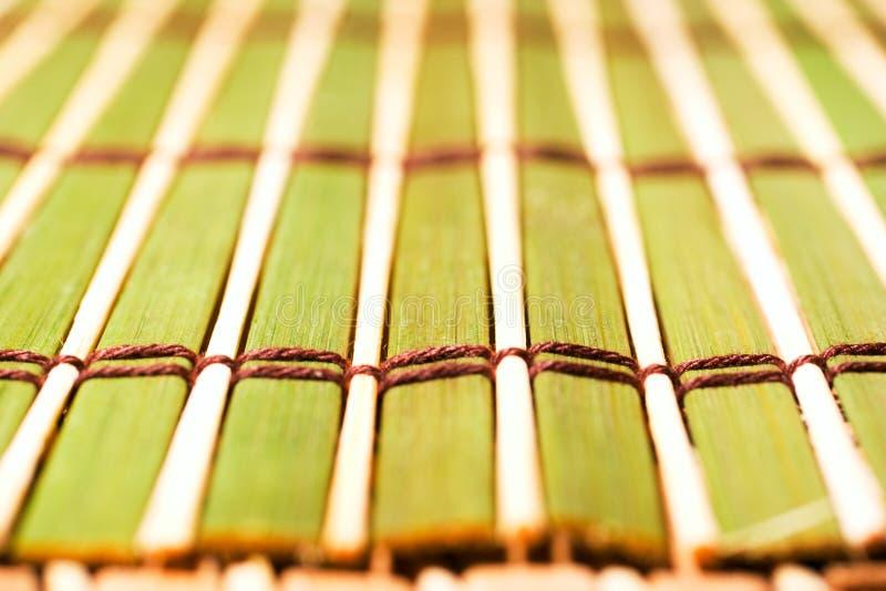 циновка крупного плана предпосылки bamboo стоковые изображения