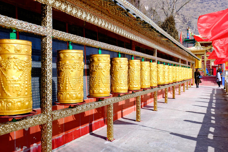 Цинхай Синин: большое kunlun Святой 9 дней - гора MaLong Феникса стоковое фото
