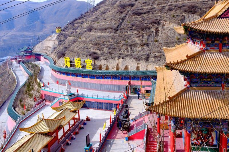Цинхай Синин: большое kunlun Святой 9 дней - гора MaLong Феникса стоковое изображение rf