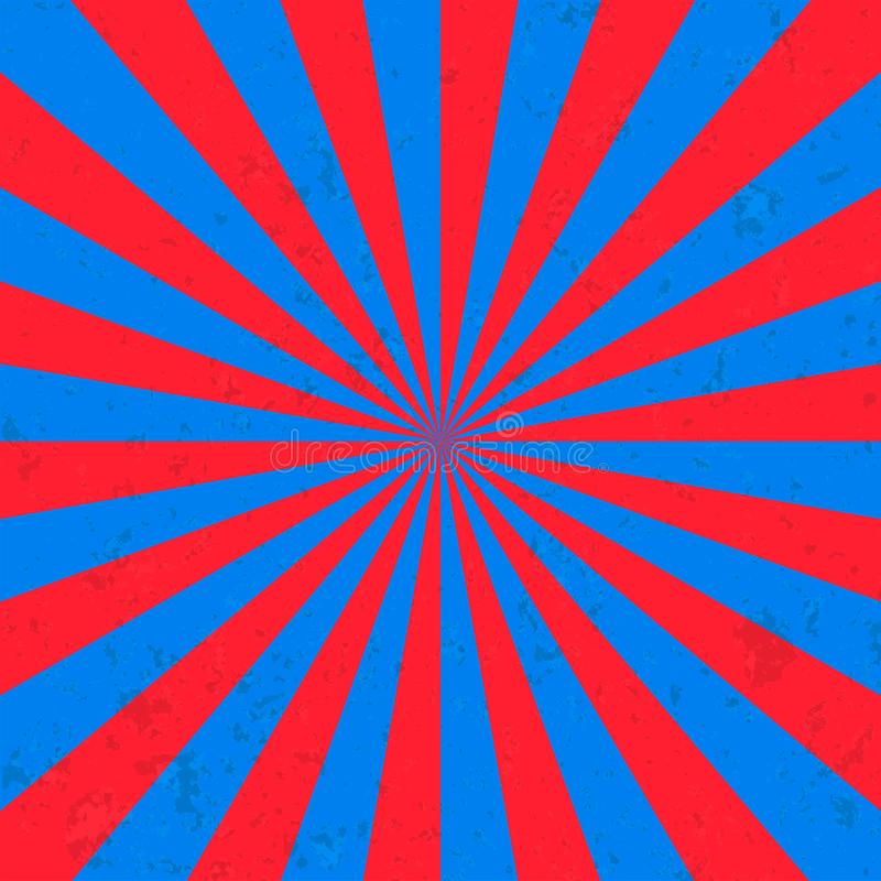 Цирк предпосылки взрыва Солнця иллюстрация штока