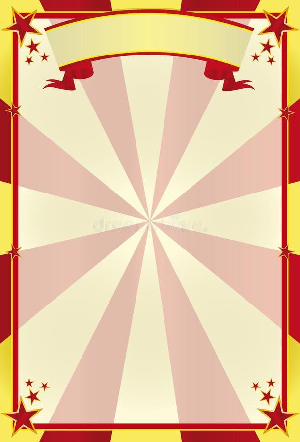 цирк предпосылки иллюстрация штока