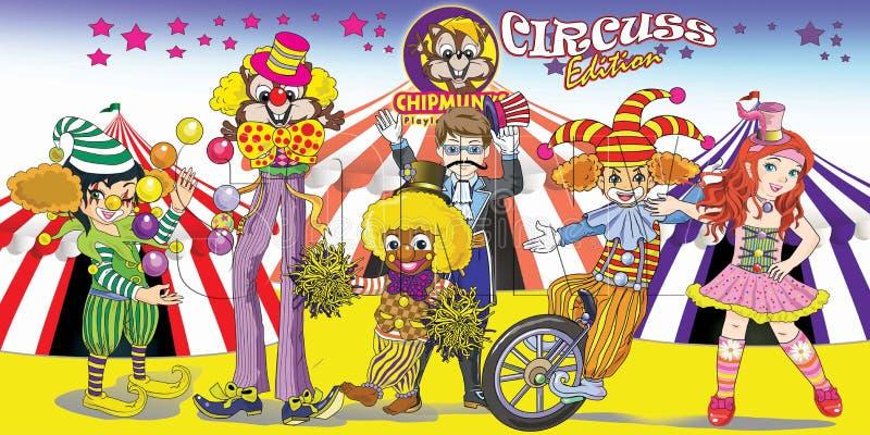 Download Цирк шаржа Сибирских бурундуков Иллюстрация штока - иллюстрации насчитывающей chipmunks, характер: 81806150