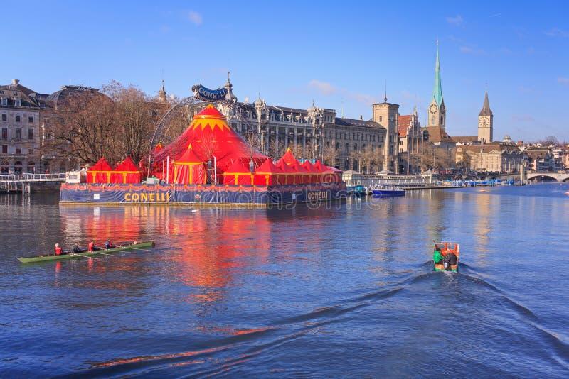 Цирк Conelli в Цюрихе стоковые изображения rf
