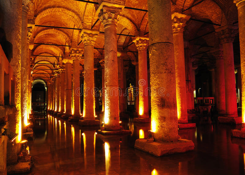 цистерна istanbul базилики стоковые фото