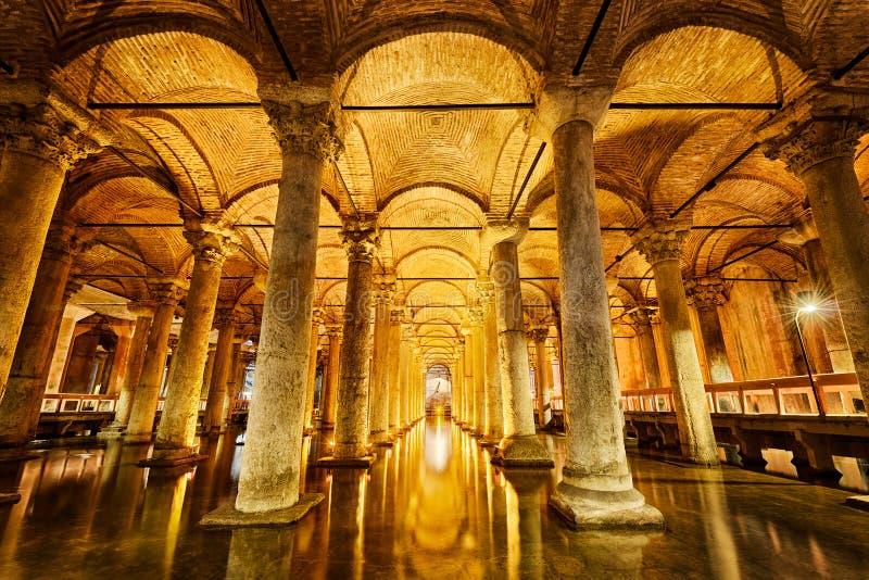 цистерна istanbul базилики стоковые изображения rf