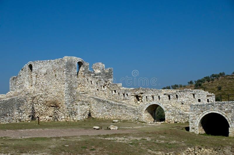 цитадель berati Албании стоковые фотографии rf