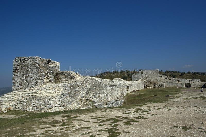 Цитадель, Berati, Албания стоковые изображения rf