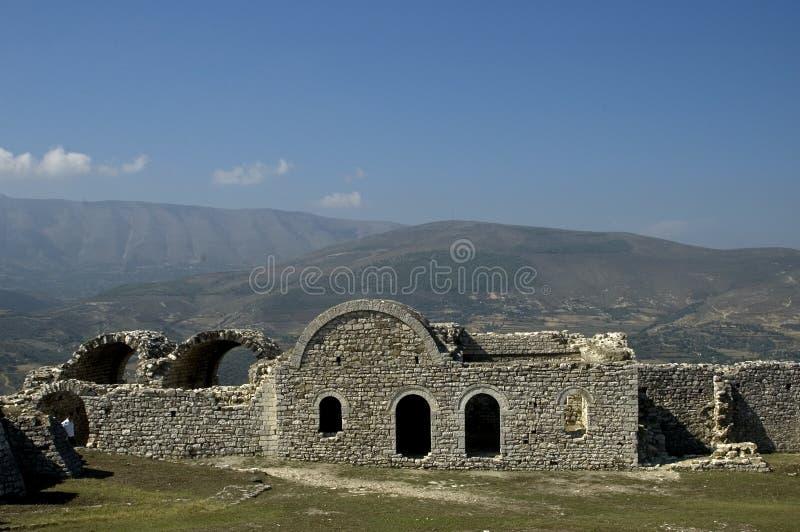 Цитадель, Berati, Албания стоковое изображение rf