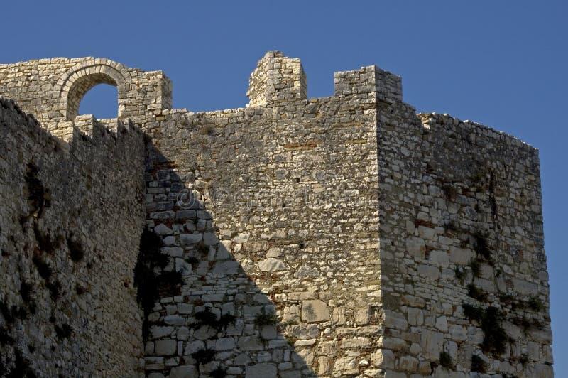Цитадель, Berati, Албания стоковая фотография
