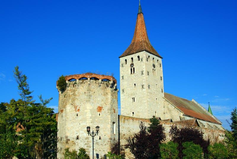 цитадель transylvania aiud стоковое фото