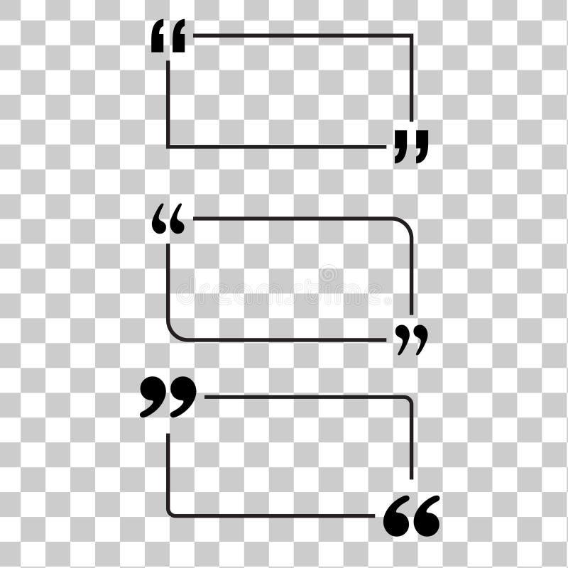 Цитата мотивировки иллюстрация вектора