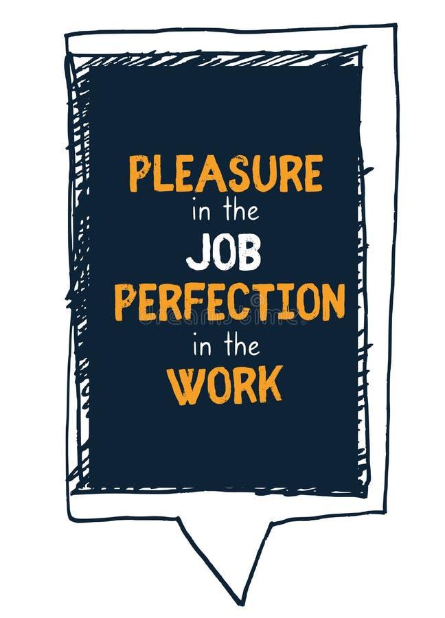 Цитата работы трудная в стиле хипстера на темной предпосылке Иллюстрация вектора Grunge Абстрактная концепция мотивации оформлени бесплатная иллюстрация