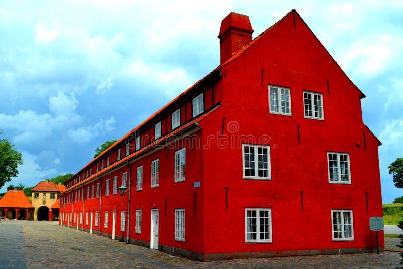 Цитадель Копенгагена (Kastellet) стоковые фото