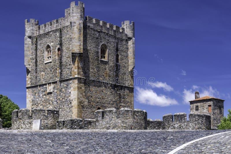 Цитадель, Braganca, Португалия стоковые фотографии rf