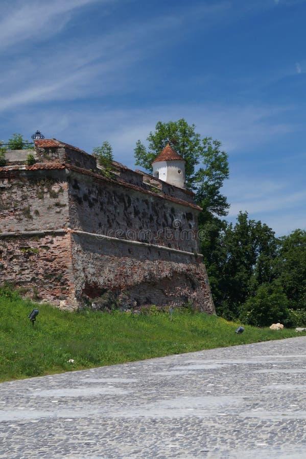 Цитадель Brasov (Kronstadt) стоковые фотографии rf