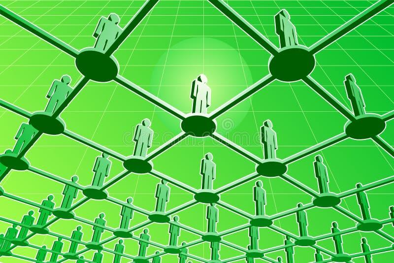 цифровая глобальная вычислительная сеть бесплатная иллюстрация