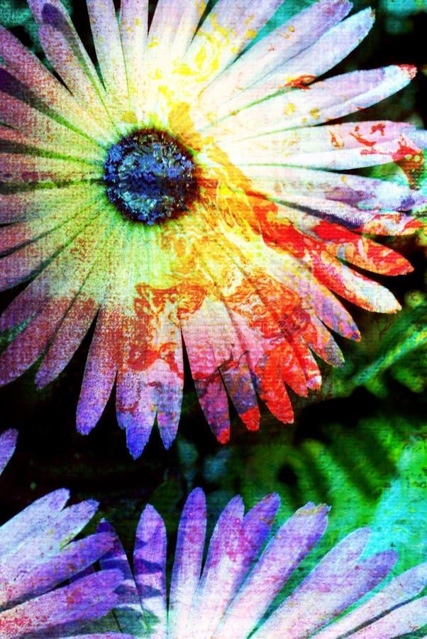 цифровая иллюстрация цветка стоковые фотографии rf