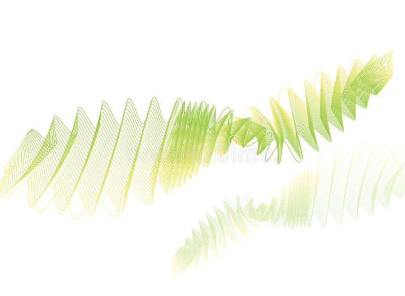 цифровая линия wave1 иллюстрация штока