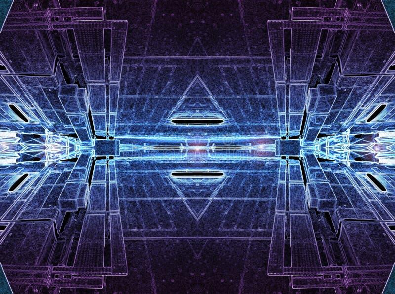 цифровая область 009 иллюстрация штока
