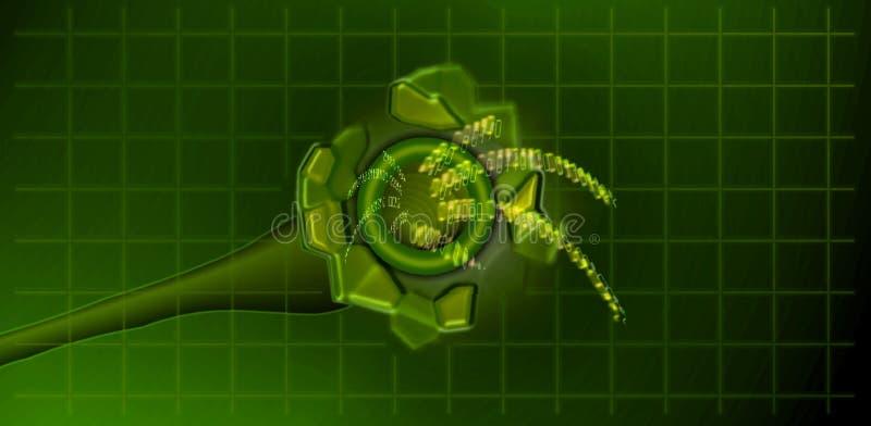 цифровая передача Стоковые Изображения RF