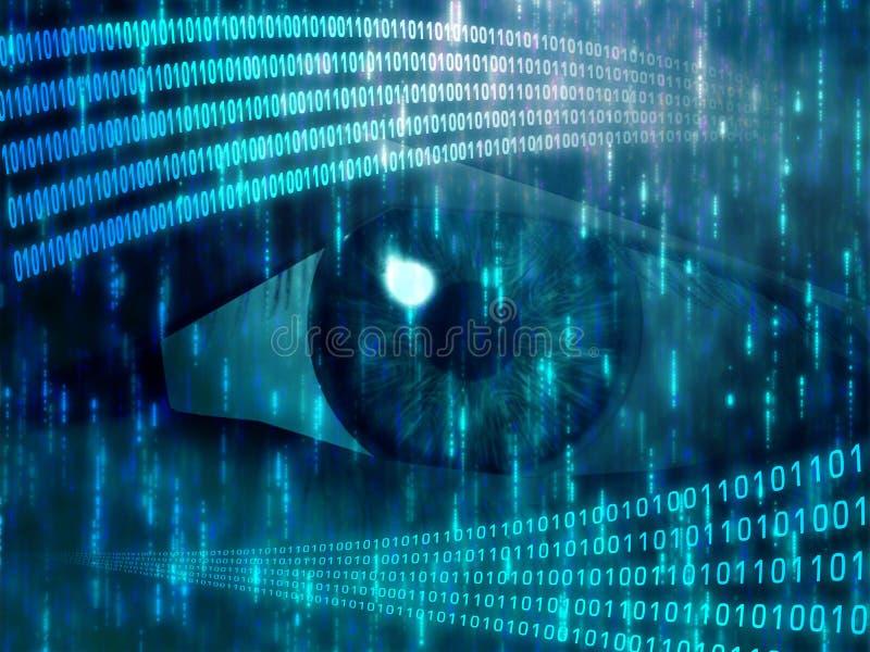 цифровое зрение бесплатная иллюстрация