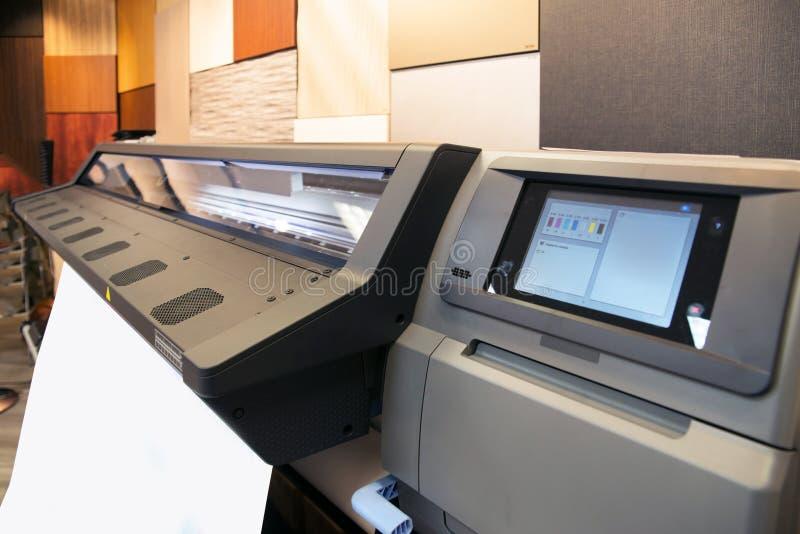 цифровое печатание принтера формы широко стоковые фото