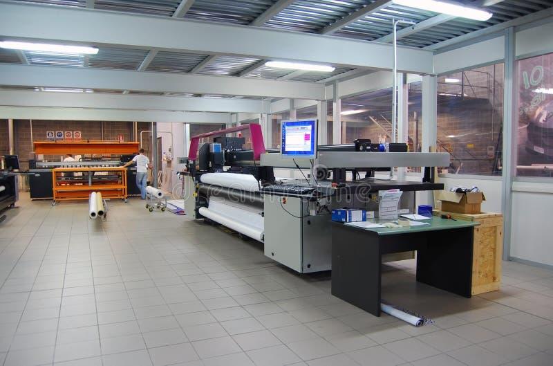 цифровое печатание формы широко стоковая фотография rf