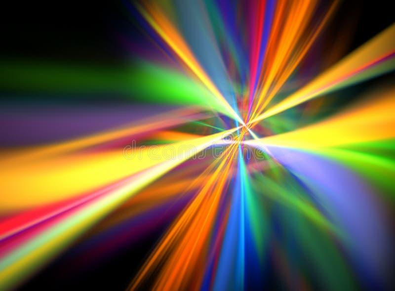 цифровое lightshow иллюстрация штока