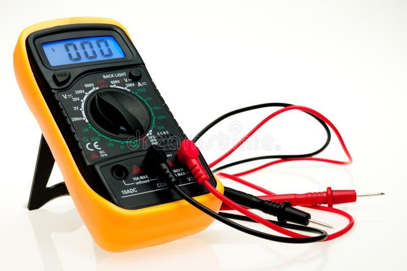 Цифровой вольтамперомметр стоковое изображение