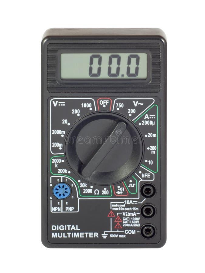 цифровой вольтамперомметр стоковое фото