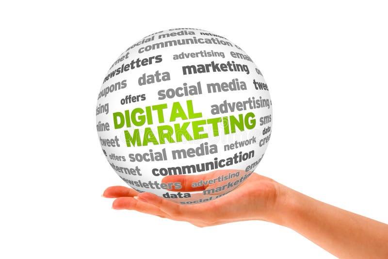 цифровой маркетинг бесплатная иллюстрация