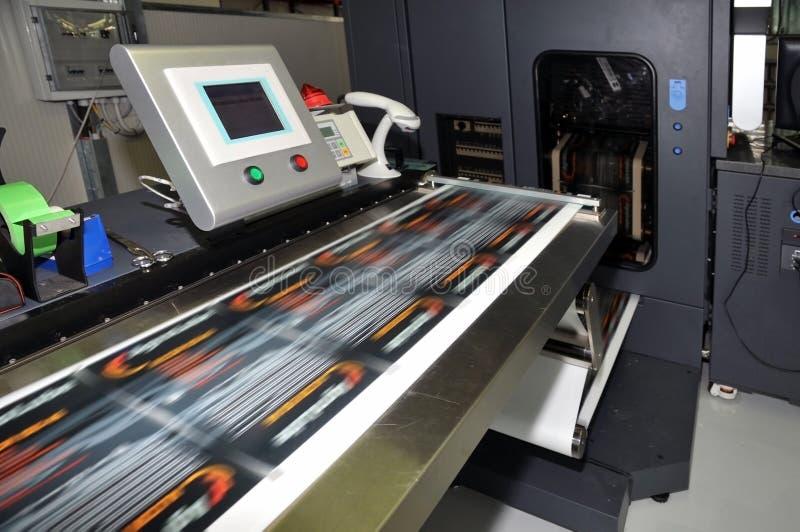 цифровой принтер ярлыков стоковые фотографии rf