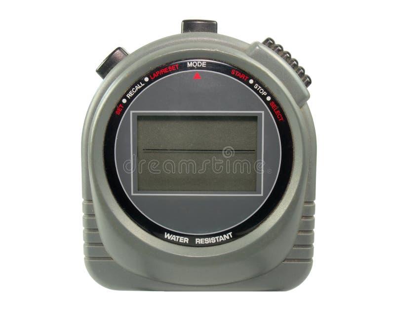 цифровой секундомер стоковое фото