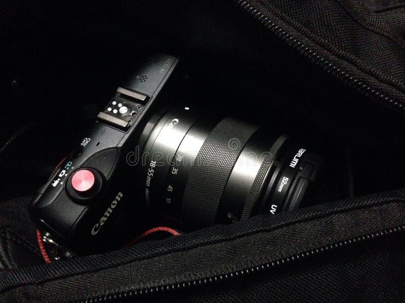 Цифровой фотокамера КАНОНА стоковое изображение