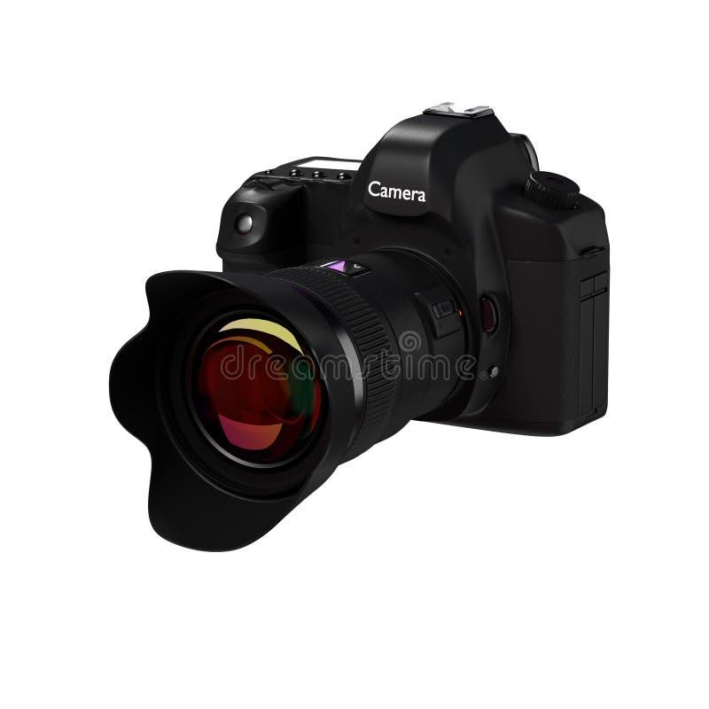 Цифровой фотокамера иллюстрация вектора